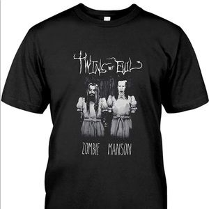 Rob Zombie & Marilyn Manson-Twins of Evil Tour Tee